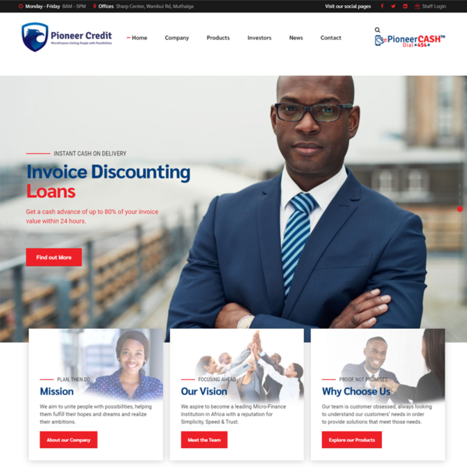 Pioneer Credit Limited